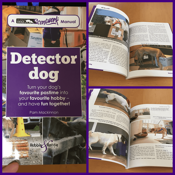 talking dogs scentwork manual detector dog
