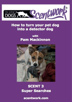 Scentwork dvd scent 3 super searches