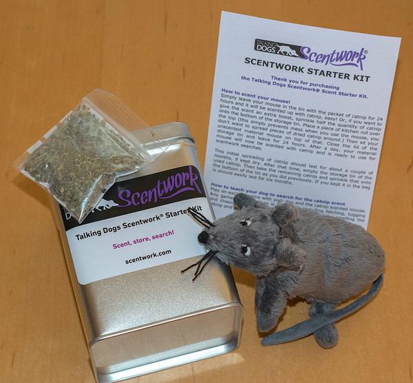 Scentwork starter kit catnip mouse